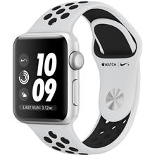 Apple Watch 3 Nike Plus 38mm Silver Aluminum Case with Pure Platinum/Black Nike Sport Band